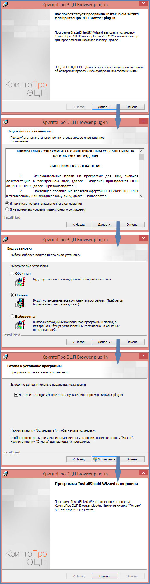 Крипто Про ЭЦП Browser-plugin